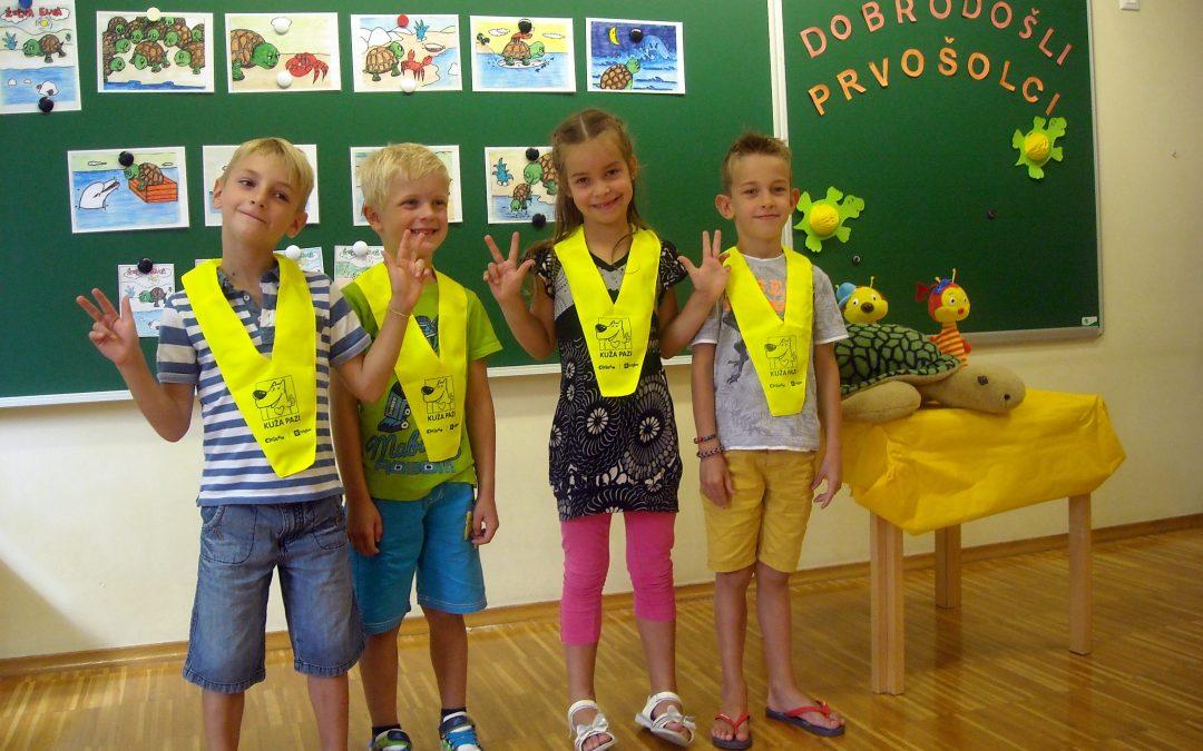 PŠ Vrhpolje: Prvi šolski dan