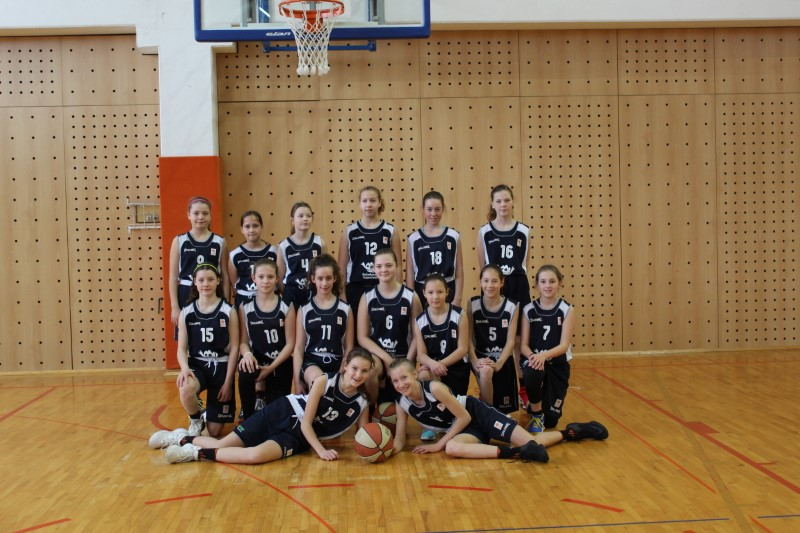 Košarka mlajše učenke