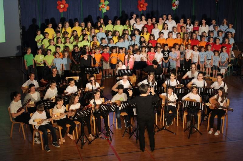 Dobrodelni zaključni koncert na OŠ Draga Bajca VIPAVA