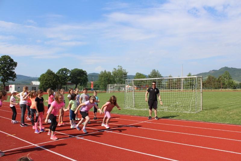 Šolsko tekmovanje v atletiki 1. 2. in 3. razredov